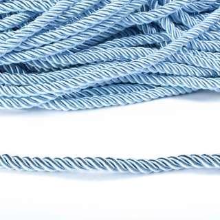 Шнур кручений блакитний, діаметр 0,9см оптом