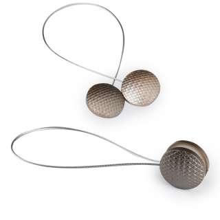 Підхват магнітний для штор коло плетінка бронза оптом