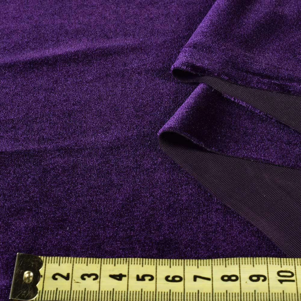 ... Велюр стрейч фіолетовий ab7bd065ac563